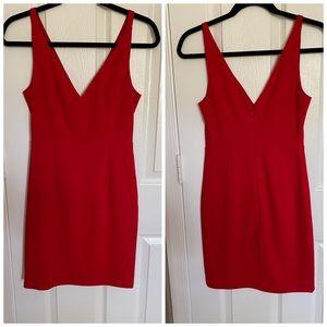 Lulus mini red dress